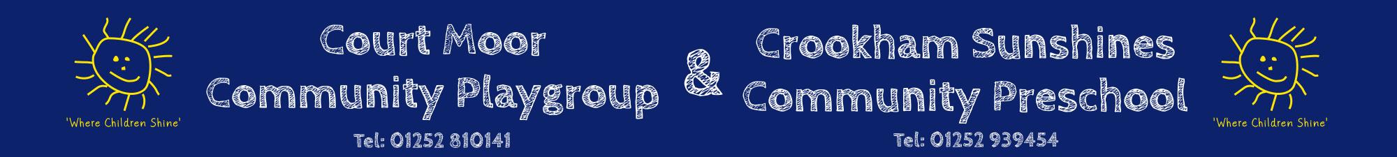 Courtmoor Playgroup Logo