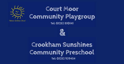 Courtmoor Playgroup Logo